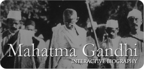 Mahatma Gandhi Interactive Biography